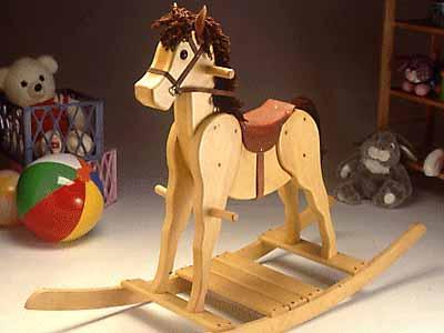 basic rocking horse plans